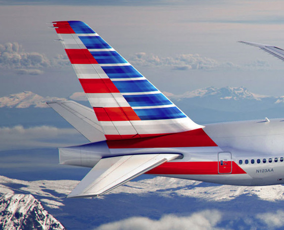 american airlines aa new modern look livery