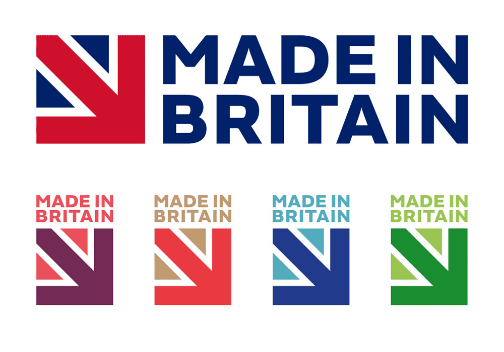 made in britain logo color settings